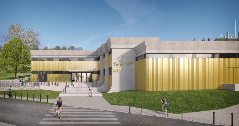 Centre nautique de La Tour du Pin après rénovation