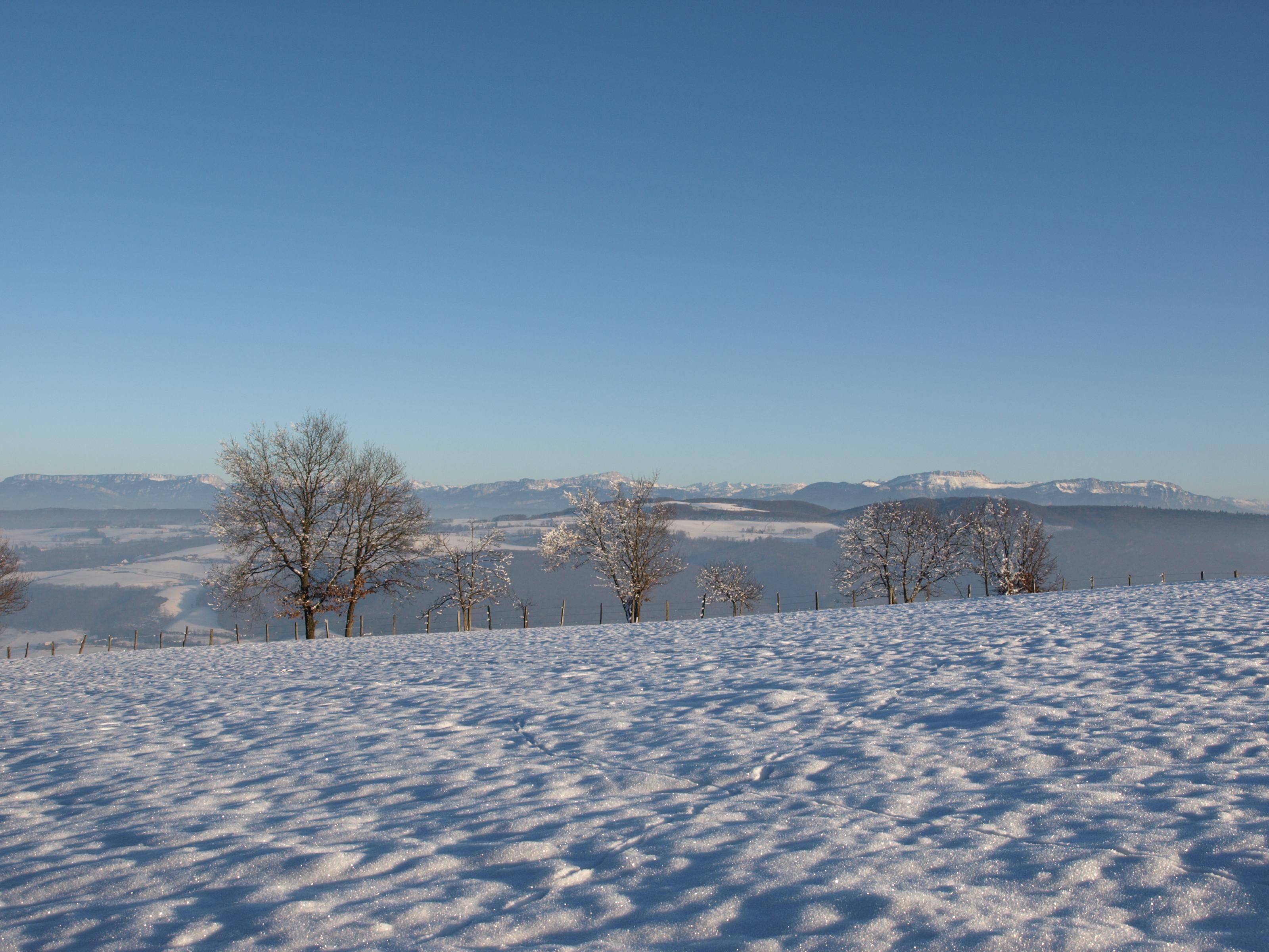 Les Vals du Dauphiné sous la neige