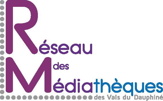 Logo du Réseau des médiathèques de la Communauté de communes Les Vals du Dauphiné