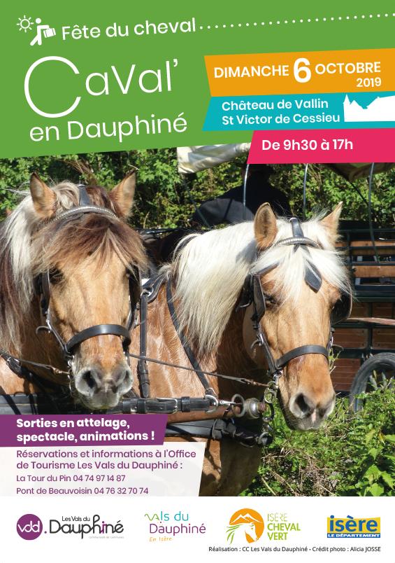 Affiche Caval en Dauphine 2019 web